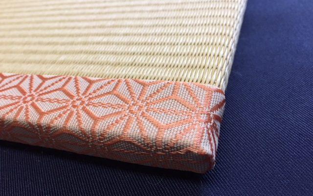 麻の葉の飾り畳